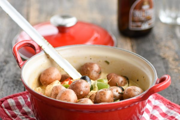 Cherry Potatoes stoofpot kip
